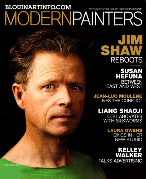 Blouin Modern Painters Cover - 11/1/2012