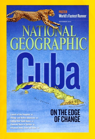 National Geographic Cover - 11/1/2012
