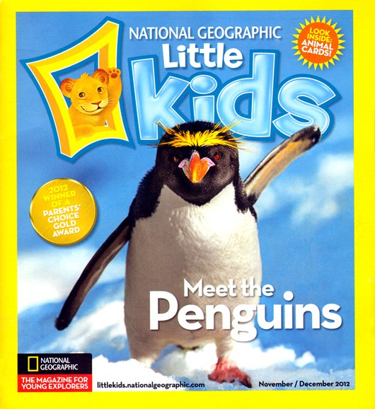 National Geographic Little Kids Cover - 11/1/2012
