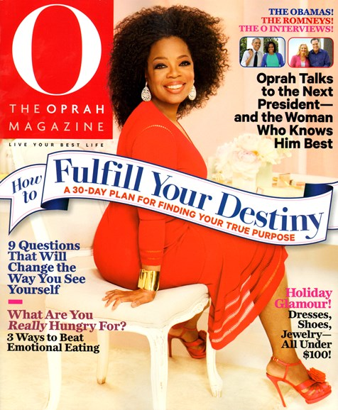O The Oprah Cover - 11/1/2012