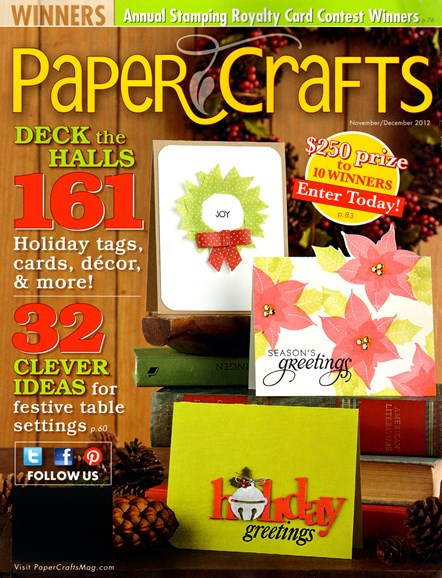Paper Crafts Cover - 11/1/2012