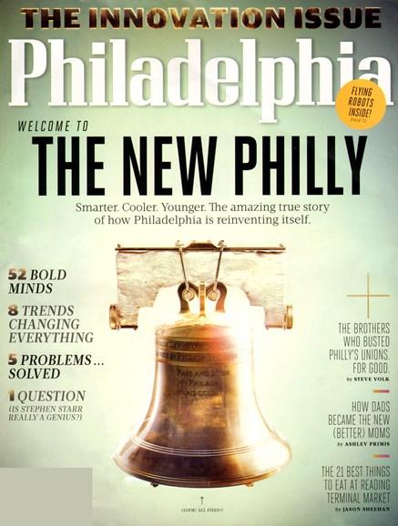 Philadelphia Magazine Cover - 11/1/2012