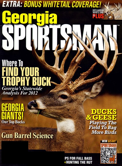 Georgia Sportsman Cover - 11/1/2012