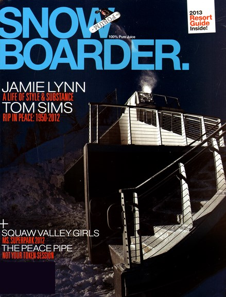 Snowboarder Cover - 11/1/2012