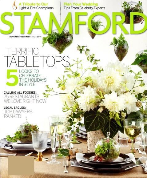 Stamford Magazine Cover - 11/1/2012