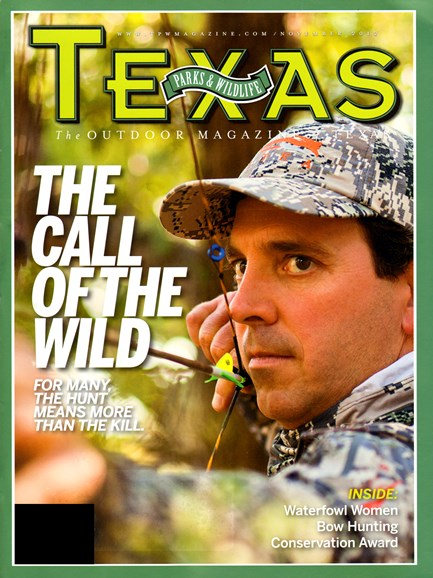 Texas Parks & Wildlife Cover - 11/1/2012