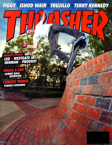 Thrasher Cover - 11/1/2012