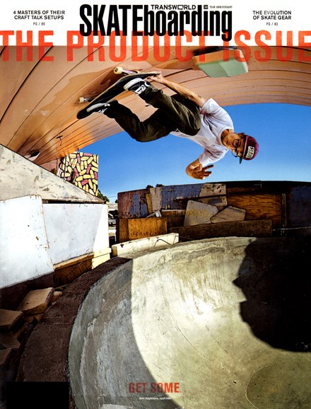 Transworld SKATEboarding Cover - 11/1/2012