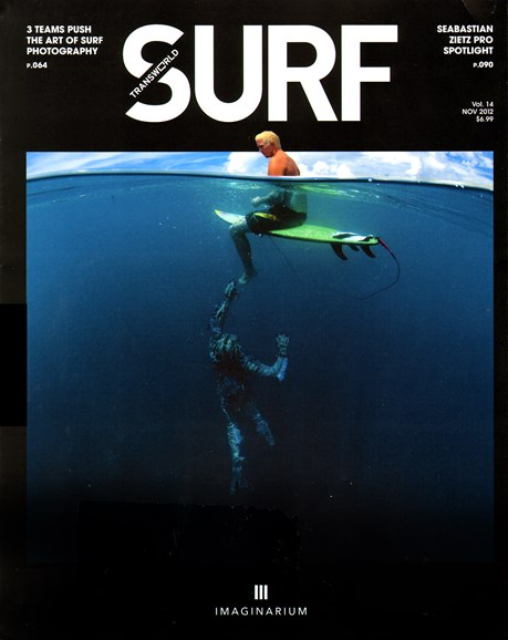 Transworld SURF Cover - 11/1/2012