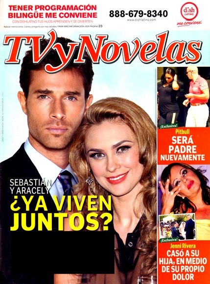 Tv Y Novelas Cover - 11/1/2012