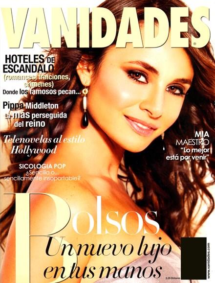 Vanidades Cover - 11/1/2012