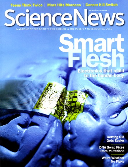 Science News Cover - 11/17/2012