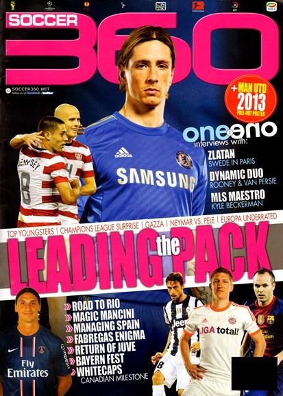 Soccer 360 Cover - 12/1/2012