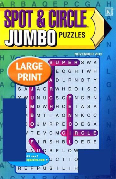 Spot & Circle Jumbo Cover - 11/1/2012