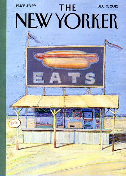 The New Yorker Cover - 12/3/2012