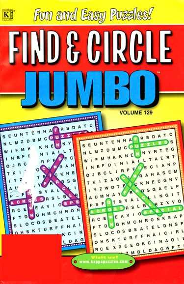 Find & Circle Jumbo Cover - 7/1/2012