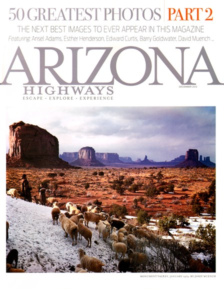 Arizona Highways Cover - 12/1/2012