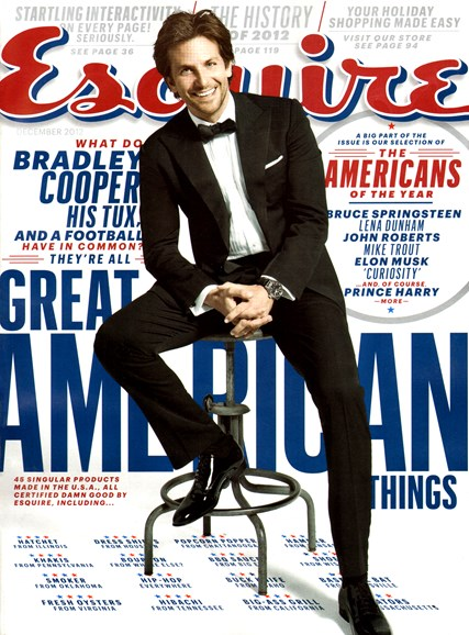 Esquire Cover - 12/1/2012