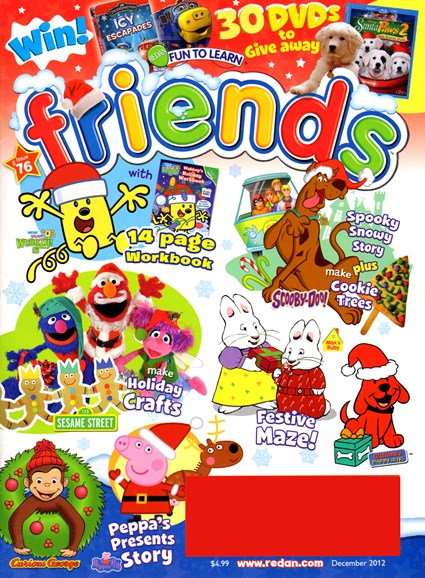 Preschool Friends Cover - 12/1/2012