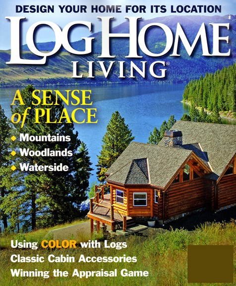 Log Home Living Cover - 12/1/2012
