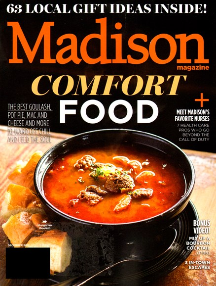 Madison Magazine Cover - 12/1/2012