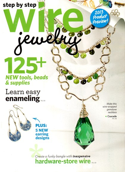 Step By Step Wire Jewelry Cover - 12/1/2012