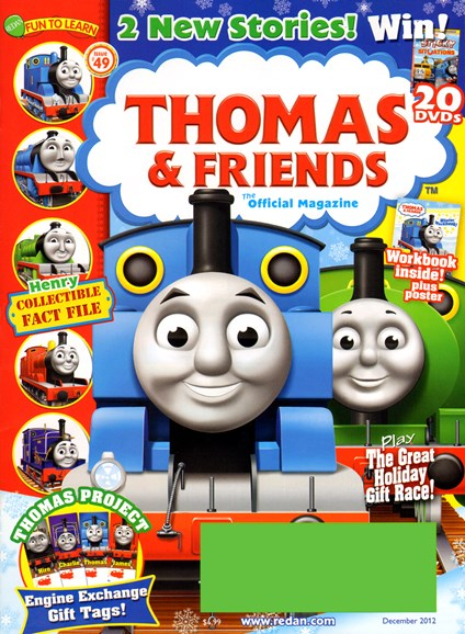 Thomas & Friends Cover - 12/1/2012