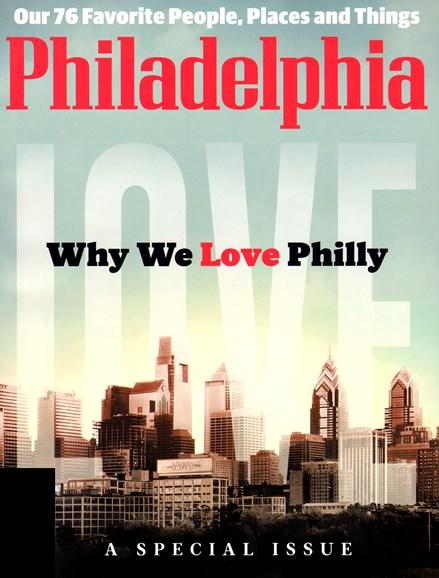 Philadelphia Magazine Cover - 12/1/2012