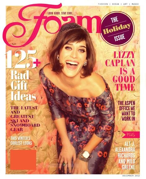 FOAM Cover - 12/1/2012
