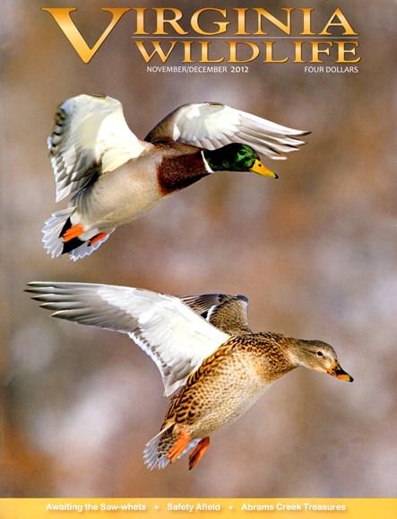 Virginia Wildlife Cover - 11/1/2012