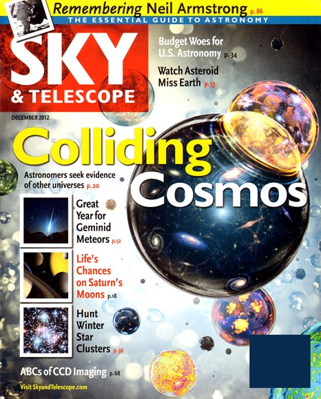 Sky & Telescope Cover - 12/1/2012