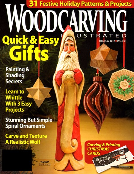 Wood Carving Illustrated Cover - 12/1/2012