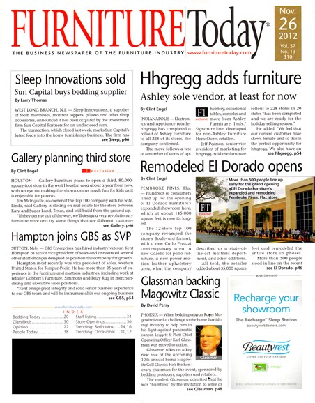 Furniture/Today Cover - 11/26/2012