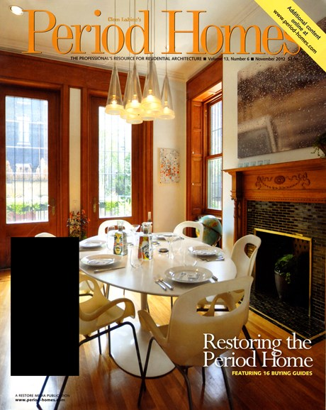 Period Homes Cover - 11/1/2012