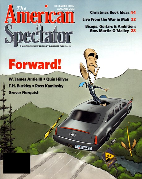 The American Spectator Cover - 12/1/2012