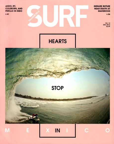 Transworld SURF Cover - 12/1/2012