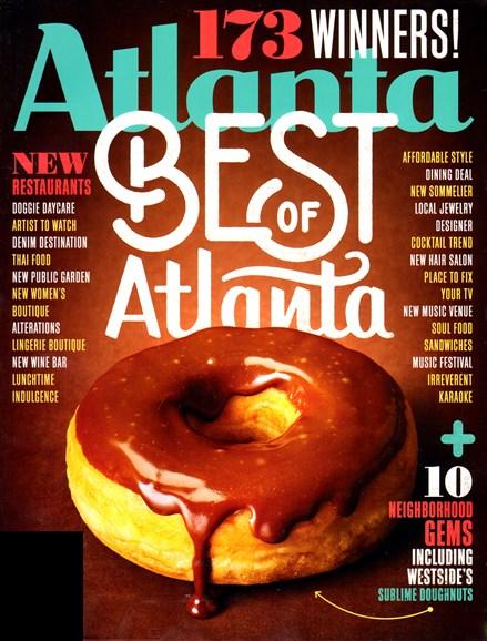 Atlanta Magazine Cover - 12/1/2012