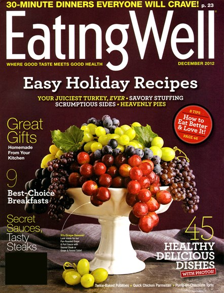 EatingWell Cover - 12/1/2012