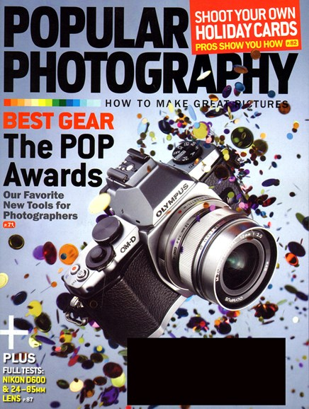 Popular Photography Cover - 12/1/2012