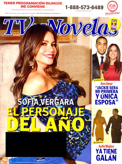 Tv Y Novelas Cover - 12/1/2012