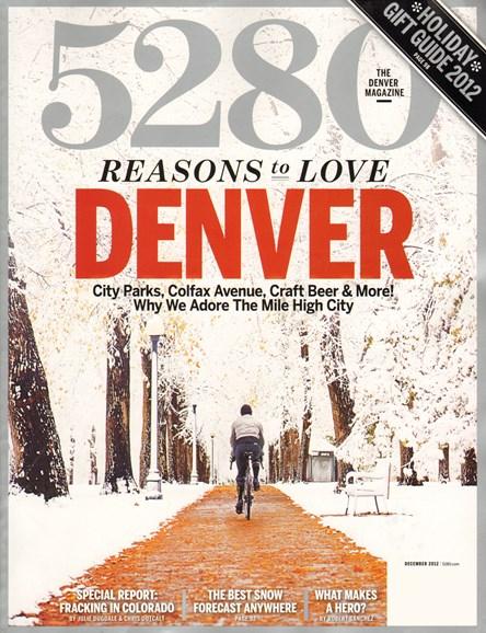 5280 Magazine Cover - 12/1/2012