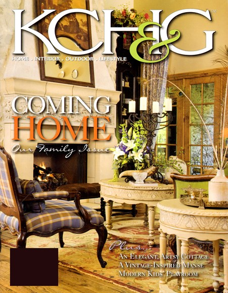 Kansas City Homes & Gardens Cover - 12/1/2012
