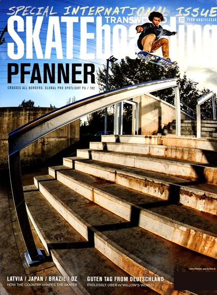 Transworld SKATEboarding Cover - 12/1/2012