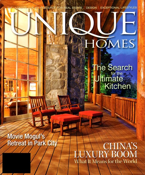 Unique Homes Cover - 12/1/2012
