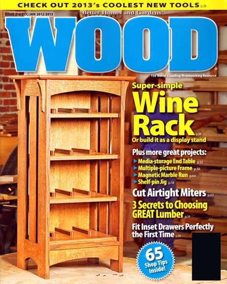 Wood Cover - 12/1/2012