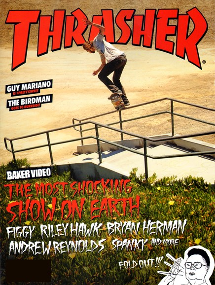 Thrasher Cover - 12/1/2012