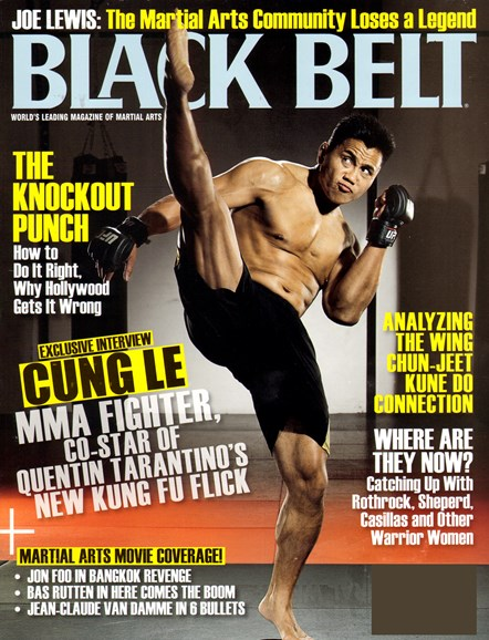 Black Belt Magazine Cover - 12/1/2012