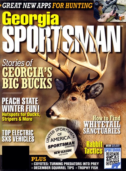 Georgia Sportsman Cover - 12/1/2012