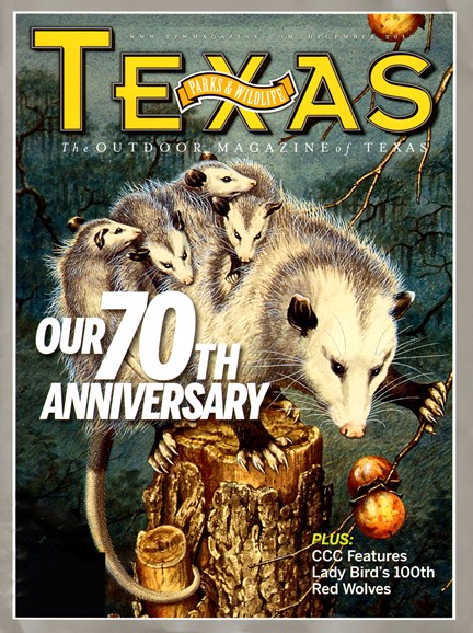 Texas Parks & Wildlife Cover - 12/1/2012