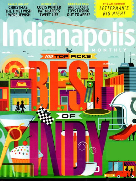 Indianapolis Monthly Cover - 12/1/2012